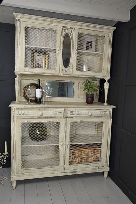 how to put chicken wire on cabinet doors how to rock a vintage cupboard in your interior 25 ideas