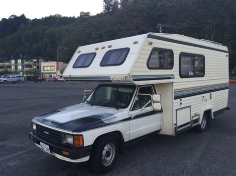 Toyota Motorhome Used Rvs 1986 Toyota Rv Cer For Sale By Owner