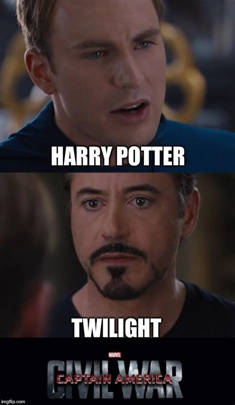 Harry Potter Meme Generator - marvel civil war meme imgflip
