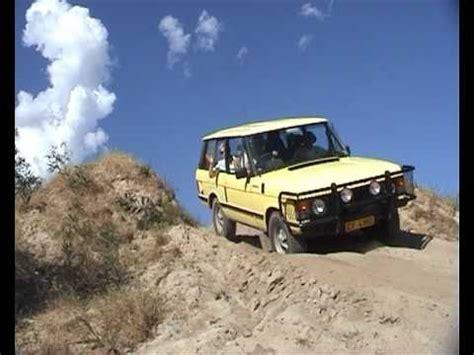 land rover pajero 1980 range rover classic articulation vs mitsubishi pajero