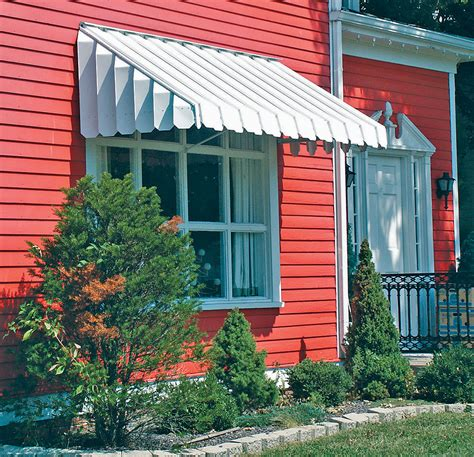Patio Awning Side Panels Brookside Window Awning With Angled Side Panels