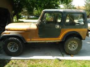 jeep renegade 1985 1985 classic jeep cj 7 renegade sell trade 7000 for