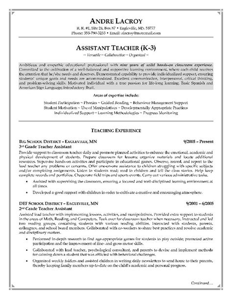 resume template dazzling elementary teacher resume examples sample