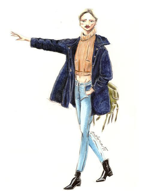 fashion illustration on photoshop fashion illustration polona žalig
