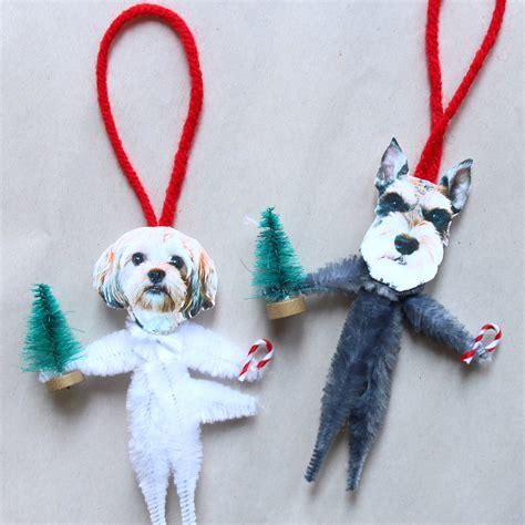 hilarious diy dog ornaments  barkpost