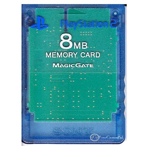 Memory Card Ps2 8mb By Winzgame playstation 2 memory card by sony 8 mb blue clear 100