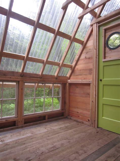 diy micro cabin   woods   build