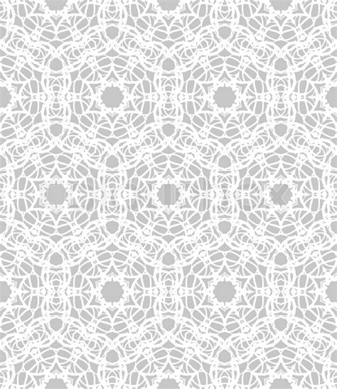 vector background pattern gray luxurious elegant linear seamless vector pattern in white
