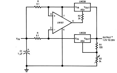 lm338 resistor wattage 28 images variable power supply using lm317 voltage regulator lm317