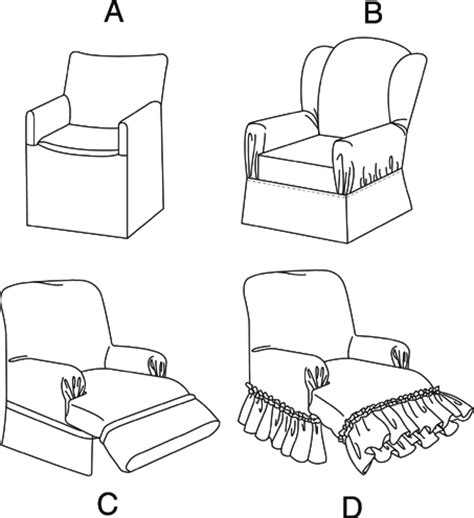 Pattern Recliner Slipcover by Mccall S M4069 Sewing Pattern Recliner Wingback Chair Slip