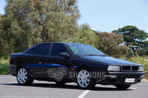 maserati biturbo sedan sold maserati quattroporte bi turbo sedan auctions lot