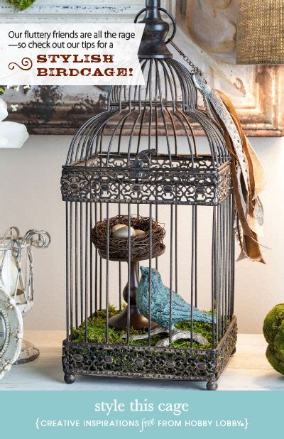 how to decorate a birdcage home decor hobbylobby projects style this cage