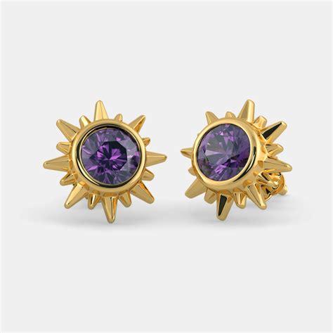 Crown Earring the crown chakra earrings bluestone