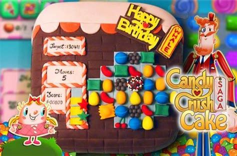 sweet kiss personalized candy crush cake promo