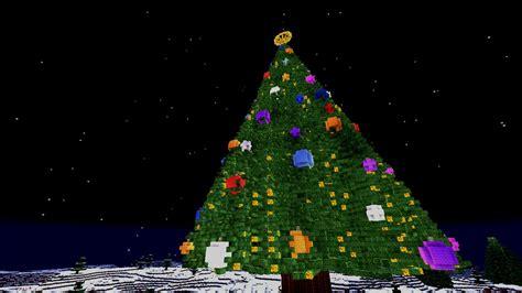 minecraft tutorial christmas tree special youtube