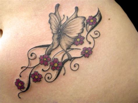 tattoo nightmares butterfly and flowers flower butterfly tattoos