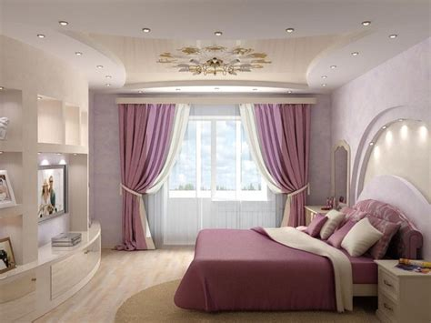 Fall Ceiling Designs For Small Bedrooms by Houser Su