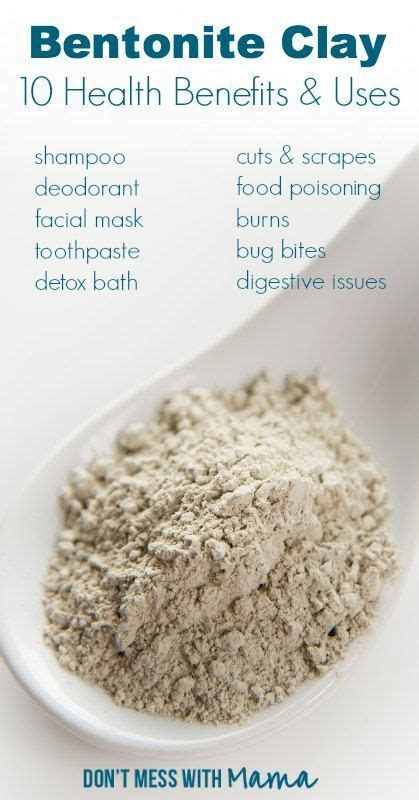 Benefits Of Bentonite Liquid Detox by 25 Best Ideas About Indian Healing Clay On