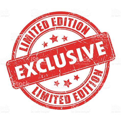 Exclusive Limited Editions At 20ltd by Exclusive Limited Edition St Stock Photo More
