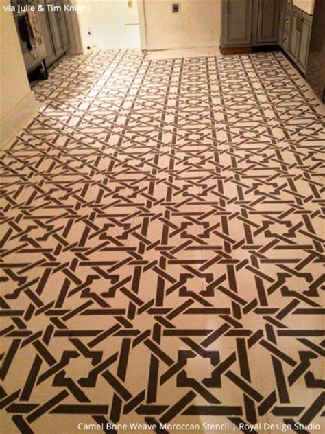 floor stencil patterns 7 stylish stenciled concrete floor finishes within your budget paint pattern