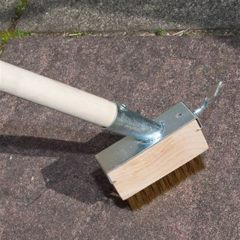 Patio Cleaning Tools by Decking Cleaning Brush Block Paving Brush For Home