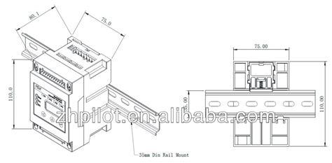 Steker Multi Cabang 4 Cahaya percontohan pmac201hw modbus smart energy meter buy