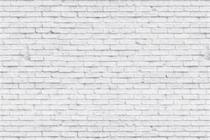 Clean white brick wallpaper wall mural muralswallpaper co uk