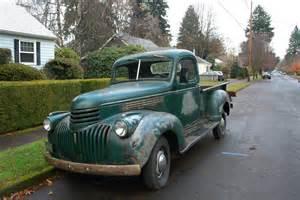 1942 Chevrolet Truck Parked Cars 1942 Chevrolet Ak