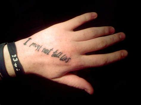i must not tell lies tattoo harry potter tattoos muggles show their for new