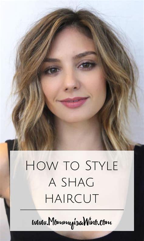 how to cut a swag haircut best 25 modern shag haircut ideas on pinterest shag
