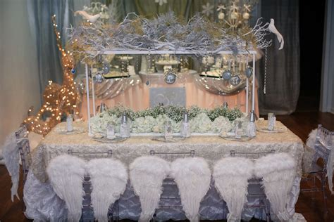 white winter themed decorations white and silver winter inspiration