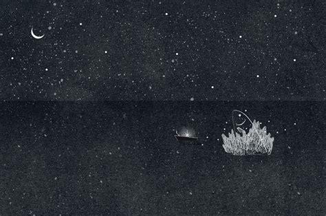 gif animate notturne  poetiche  nancy liang illustrazione