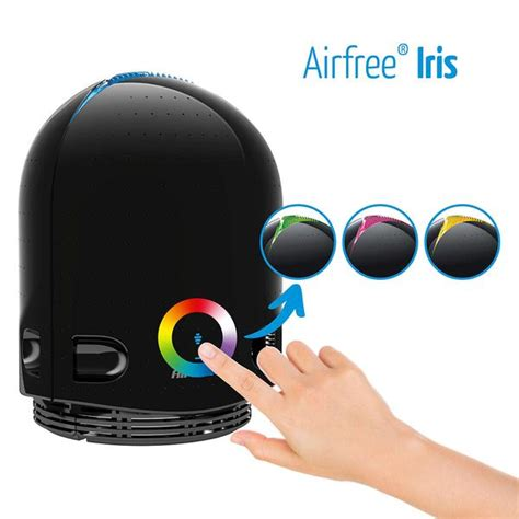 airfree iris  filterless air purifier color changing night iallergy