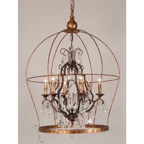 Gold Cage Chandelier European Design Designer Birdcage Chandelier In