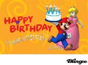happy birthday mario happy birthday mario picture 121761607 blingee