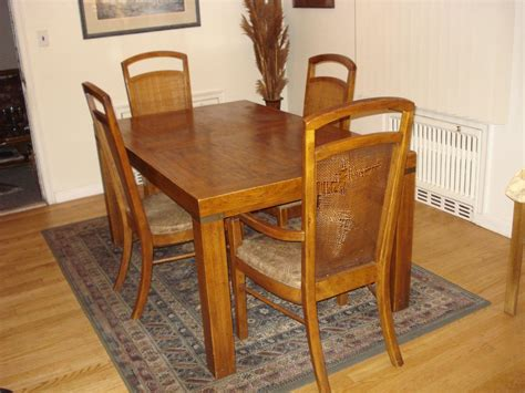 Vintage Dining Room Table by Vintage Dining Room Table And Chairs 12246