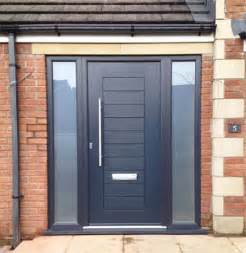 contemporary upvc front doors modern front door and entrance door in black opaque