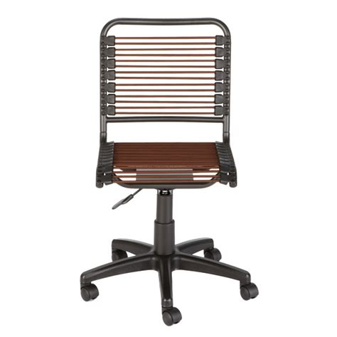 container store desk chair chocolate bungee office chair the container store