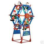 rotating christmas ferris wheel w characters by gemmy gemmy 5 ferris wheel animated new 07 02 2008