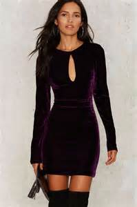 Of The High Will Velvet Be A Key Fabric In Your Aw Picks by Shop Mini Dresses With Sleeves Shop