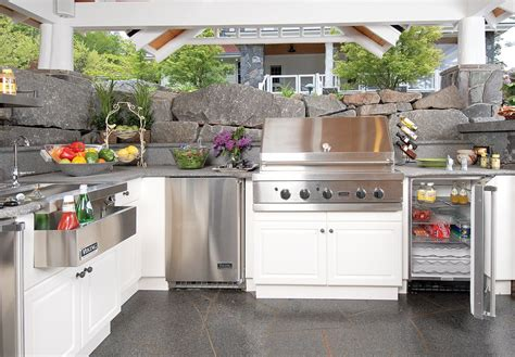 outdoor kitchens appliances outdoor appliances equipment landscaping network