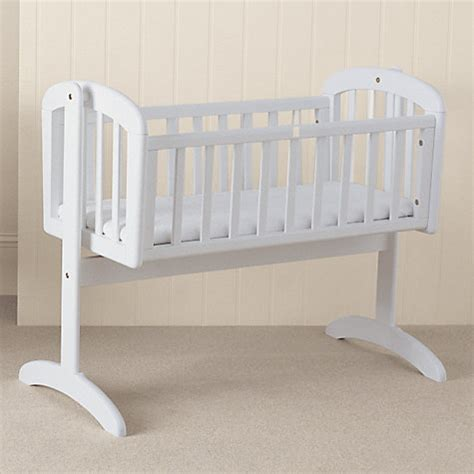 White Swinging Crib With Mattress by Buy Lewis Swinging Crib White Lewis