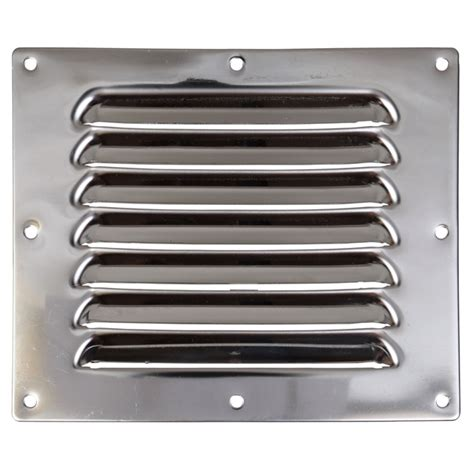 Stainless Steel Floorgroting 5 X 5 stainless steel louvered vent 5 quot x 6 quot