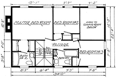 federal style home plans federal home plan with apartment below 12802gc 2nd