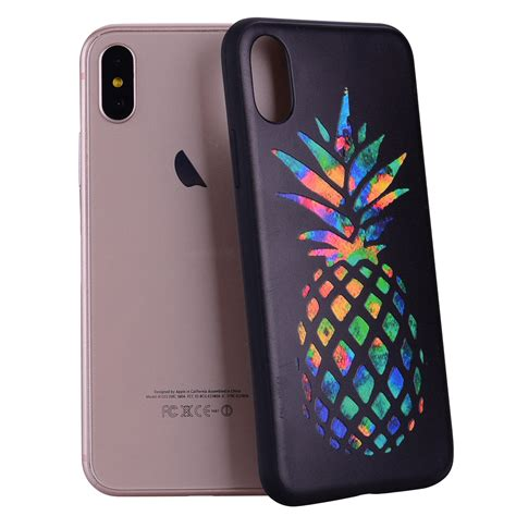 Slim Silicon Iphone 10 X Softcase Soft Casing Silikon Anti Debu 1 shockproof patterned tpu soft slim rubber skin cover for iphone 7 8 plus x ebay