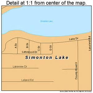 simonton map simonton lake indiana map 1869840