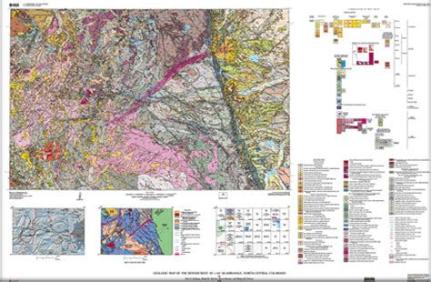 Pdf History Of The Usgs by Usgs Scientific Investigations Map 3000 Geologic Map Of