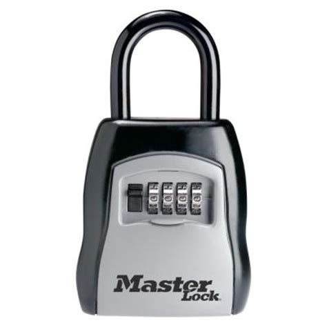 Key Lock Box Home Depot by Master Lock Portable Set Your Own Combination Lock Box