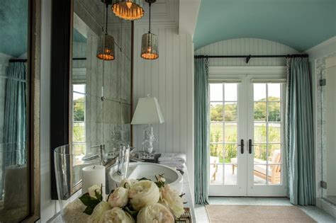 exceptional Over The Bed Decorating Ideas #4: HGTV-Dream-Home-Master-Bathroom-Curtains-on-French-Doors.jpeg