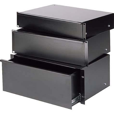 4 Space Rack Drawer by Raxxess Economy Sliding Rack Drawer Musician S Friend
